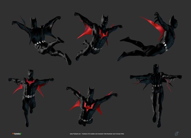 We should get a Batman Beyond mod where we have rocket ...   Batman Arkham City Batman Beyond Flying